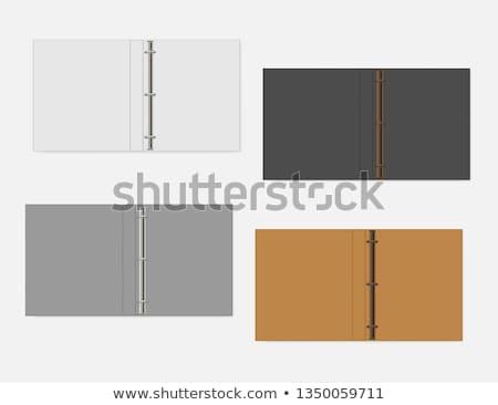 3D · colorido · carpetas · negocios · oficina · papel - foto stock © flipfine