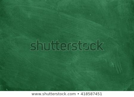 зеленый доске копия пространства мелом текста текстуры Сток-фото © Bratovanov