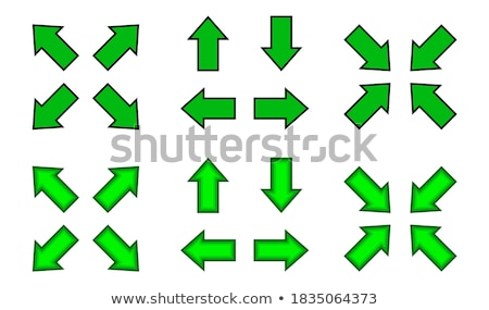 クロス 緑 ベクトル webボタン アイコン ストックフォト © rizwanali3d