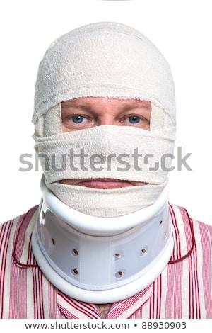 男 頭 狂牛病 脳 負傷者 ストックフォト © stevanovicigor