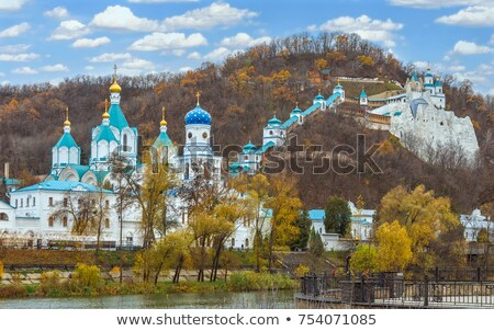 scenery Svyatogorsk monastery  Stock photo © OleksandrO