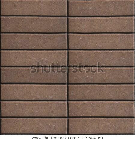 коричневый узкий бесшовный текстуры дороги строительство Сток-фото © tashatuvango