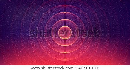 vector abstract galaxy stock photo © odina222