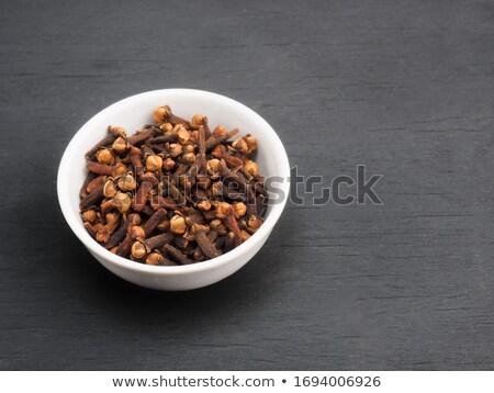 органический · черный · гвоздика · индийской · Spice - Сток-фото © ziprashantzi