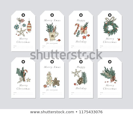 Christmas tags stock photo © samado