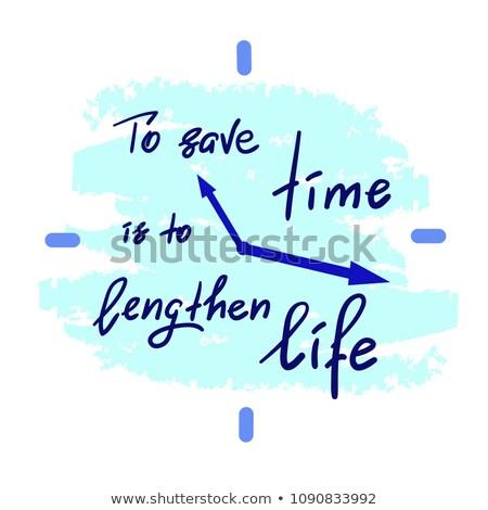 handwritten inspirational quote   time to think stock photo © tashatuvango