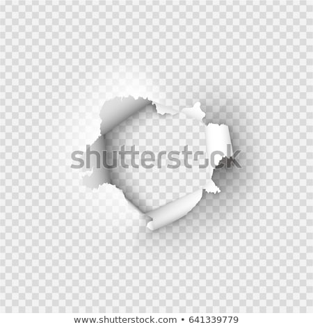 roll hole on paper stock photo © paha_l