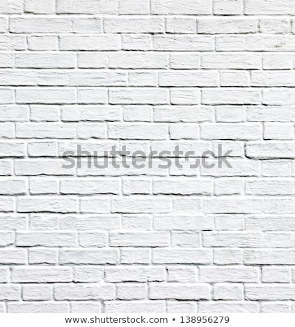 negro · marcos · blanco · pared · de · ladrillo · pared - foto stock © Paha_L