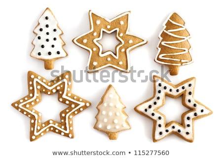 Star-shaped gingerbread cake  Stock photo © Digifoodstock