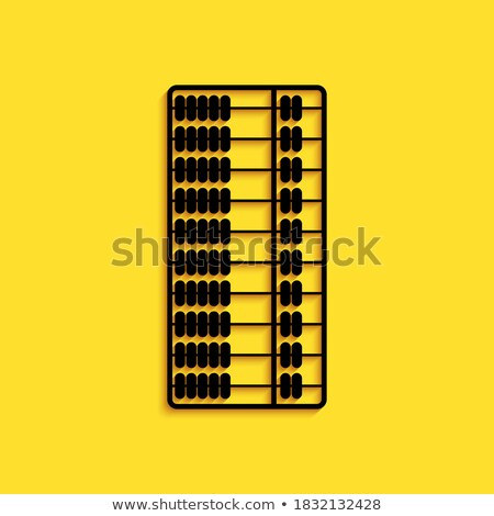 vector old yellow frame with tools stock photo © dashadima
