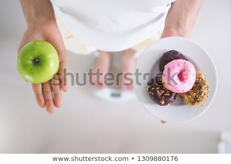 Fitness And Losing Weight Struggle Stock photo © Lightsource