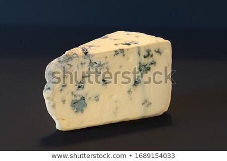 詳細 ブルーチーズ フルフレーム チーズ 成分 ストックフォト © Digifoodstock