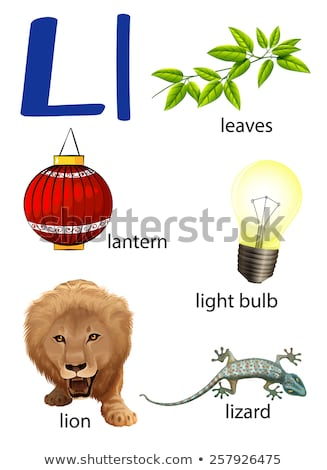 A letter L for lantern Stock photo © bluering