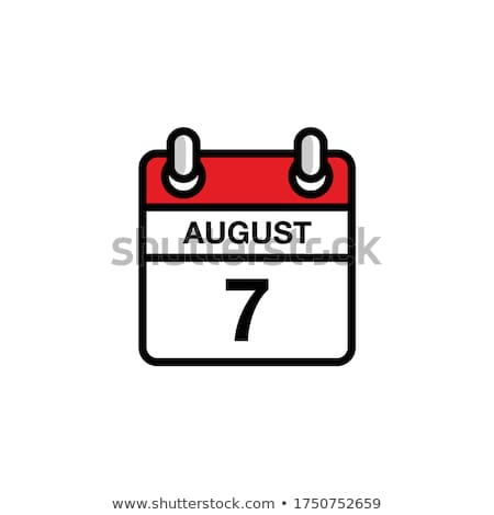 7th August Stock photo © Oakozhan