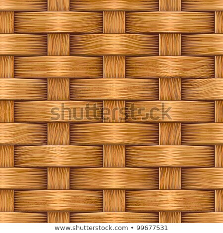 Raster Seamless Basket Wooden Weave Pattern stock photo © CreatorsClub