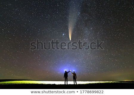 two comets Stock photo © blackmoon979
