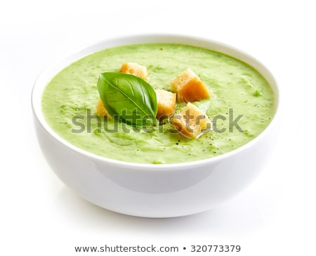 green soup bowl stock photo © digifoodstock