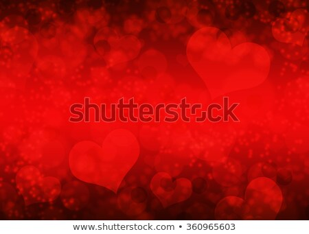 abstract artistic red valentine background Stock photo © pathakdesigner