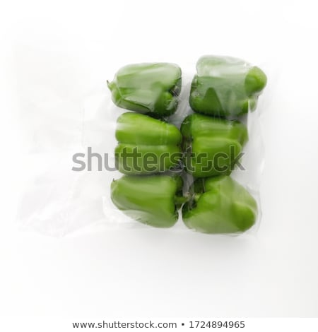 Fresh green peppers Stock photo © Digifoodstock