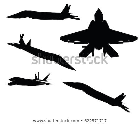 Razorback Strike Fighter on white background Stock photo © Istanbul2009