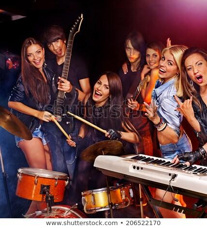 グループ · ステージ · ナイトクラブ - ストックフォト © wavebreak_media