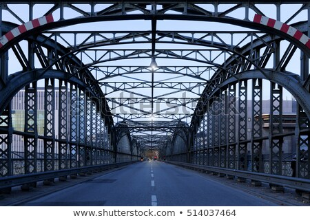有名な 橋 ミュンヘン ドイツ 市 青 ストックフォト © haraldmuc