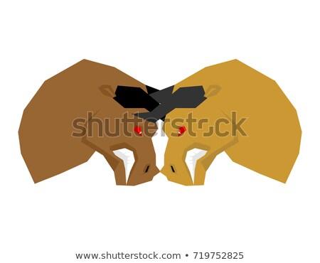 design · de · logotipo · eps · fundo · vaca · assinar · azul - foto stock © maryvalery