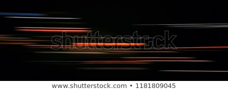 sparkle and light trail in gold color Stock photo © SArts