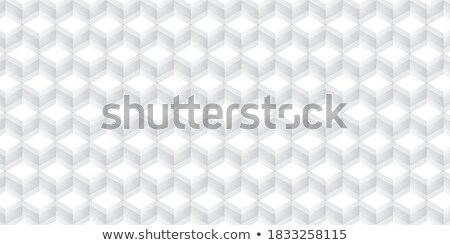 CMYK 3D Perspective Line Block Background Design stock photo © smith1979