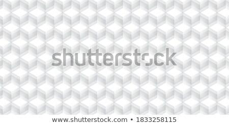 3D perspectiva línea diseno vector diseno gráfico Foto stock © smith1979