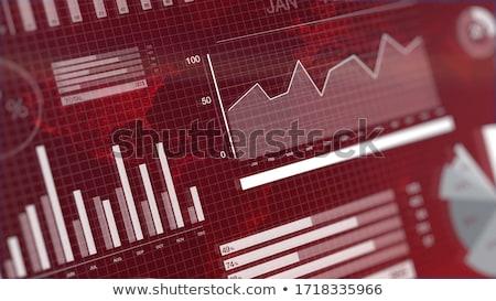 Piros jelző utca piac kéz fiatalember Stock fotó © nito