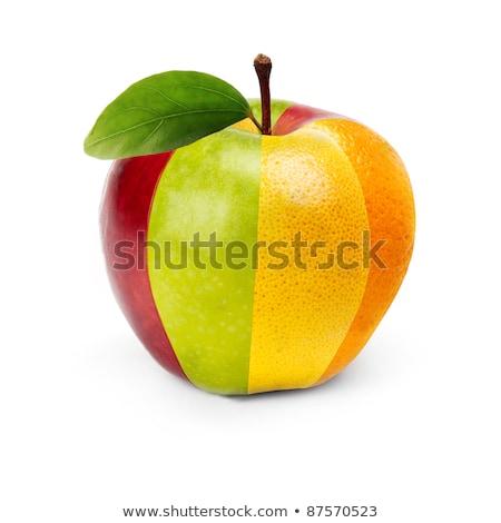 Rood grapefruit gesneden heldere Stockfoto © dash