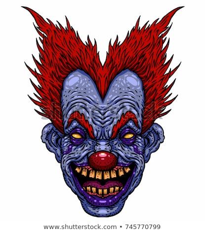 улыбаясь Cartoon клоуна иллюстрация мужчин Сток-фото © cthoman