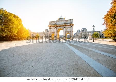 outono · Paris · jardim · cênico · ver · parque - foto stock © hsfelix