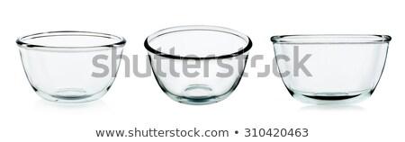 Foto stock: Vazio · colorido · vidro · tigela · coleção · isolado