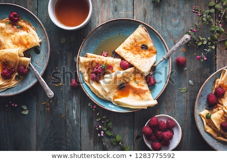 traditional crepes suzette stock photo © yuliyagontar