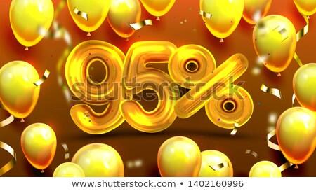 reclame · ballonnen · decoratie · banner · sterren - stockfoto © pikepicture