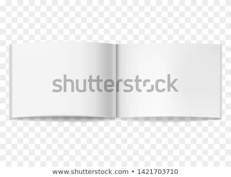 вектора · блокнот · шаблон · вертикальный · подробный · можете - Сток-фото © romvo