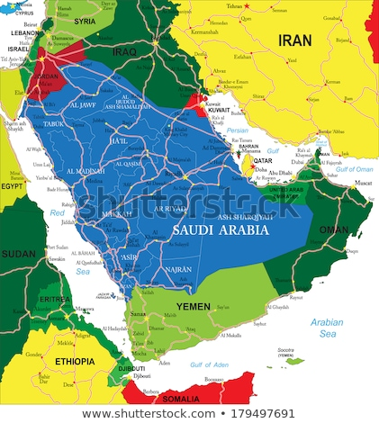 mapa · Síria · político · vários · abstrato · mundo - foto stock © conceptcafe