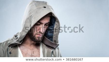 человека глядя серьезный задумчивый Сток-фото © lichtmeister