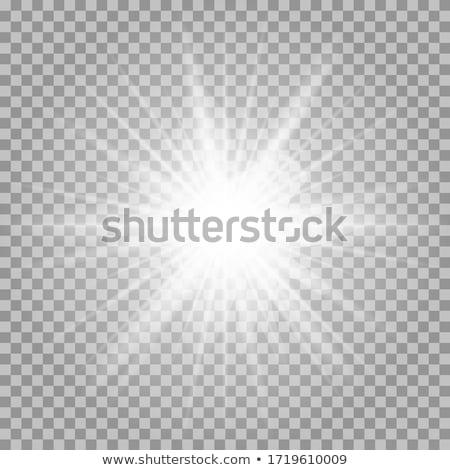 Star zon abstract illustratie grafische Stockfoto © antkevyv