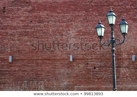 Art Nouveau street lamp in Berlin Stock photo © aladin66