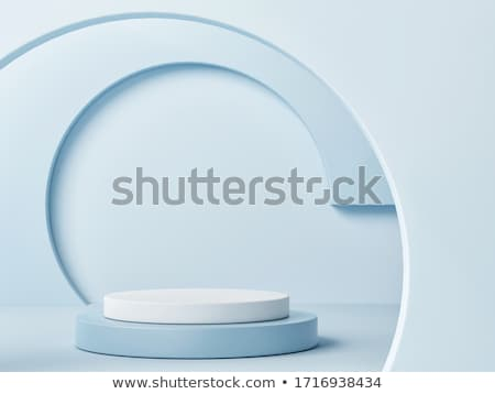 Stock fotó: Nyertes · ünnepel · pódium · 3D · renderelt · illusztráció