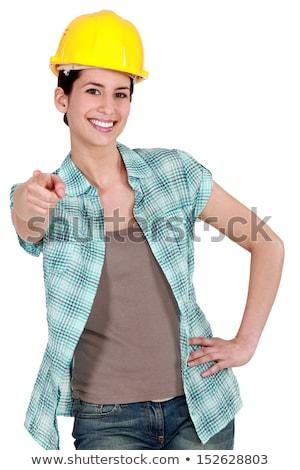 Tradeswoman with a can-do attitude Stock photo © photography33