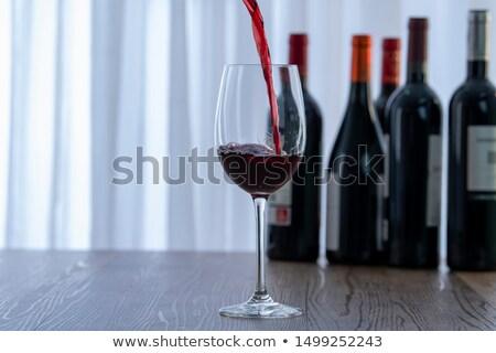 vinho · garçom · trabalhar · de · volta · serviço · jovem - foto stock © photography33