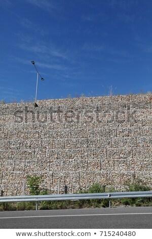 út sóder acél háló háttér kő Stock fotó © pzaxe