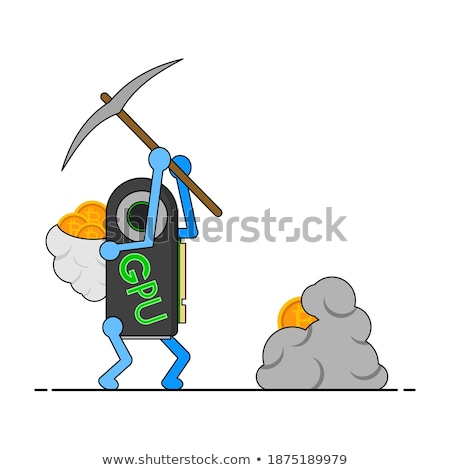 I have a pickaxe. Stock photo © photography33