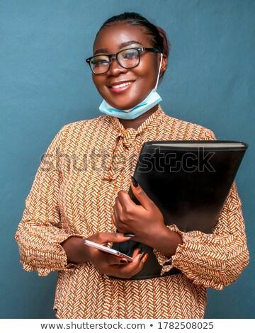 женщины · клиентов · услугами · агент · Call · Center · положительный - Сток-фото © farina6000
