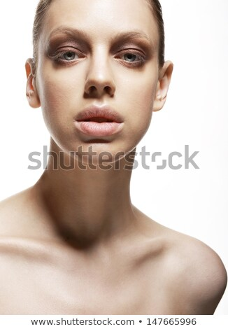 Charm. Fascination. Luxurious Face of Young Woman. Magnetism Stock photo © gromovataya