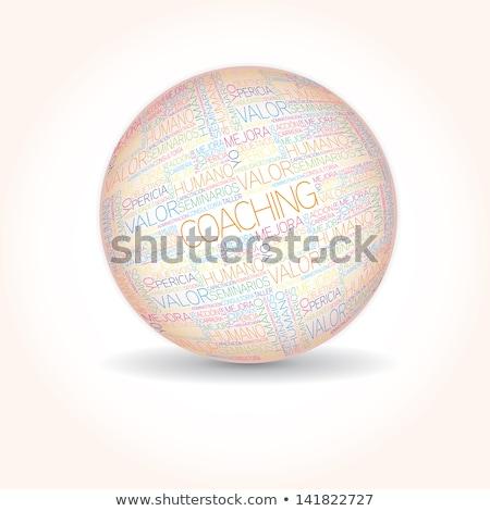 Personal Development Word Sphere (In Spanish) Stock photo © kbuntu